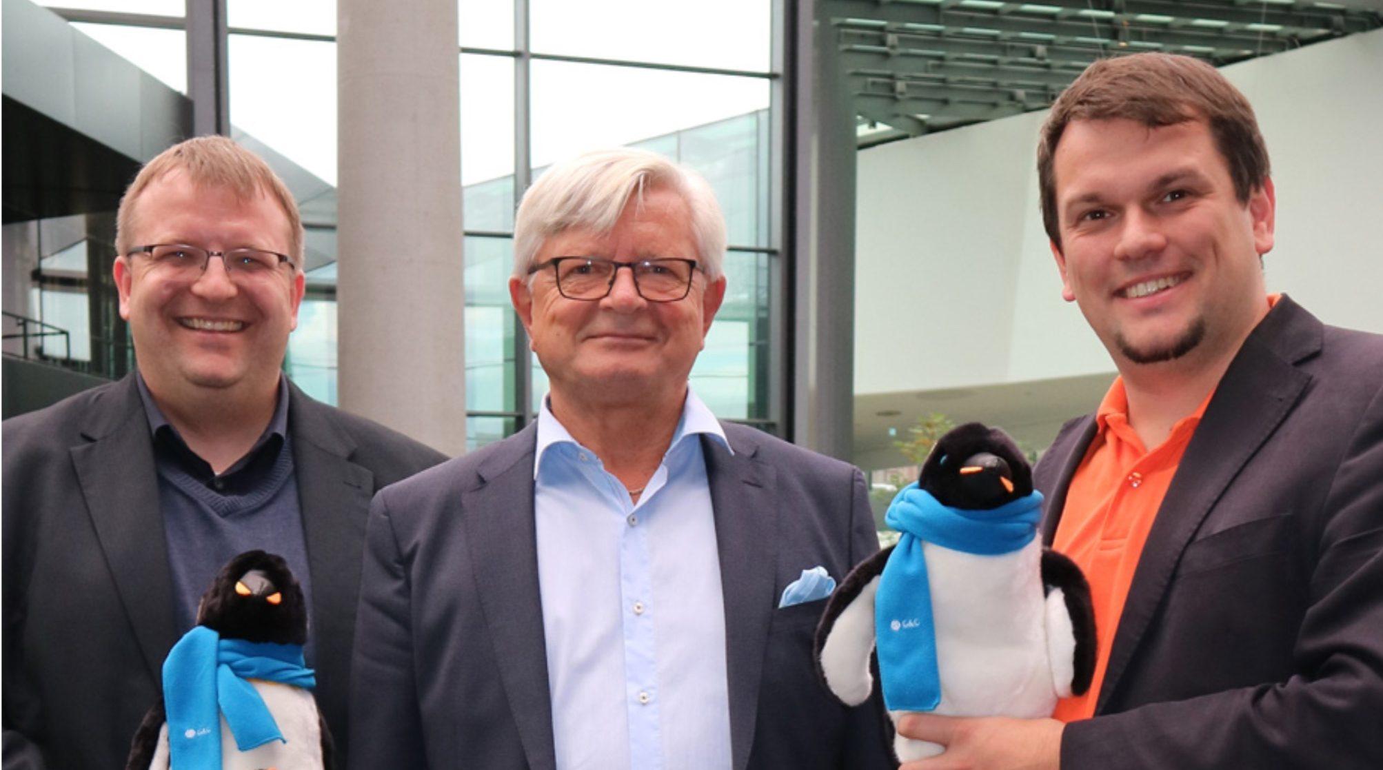 Von links nach rechts: Friedbert Baer, Karl Kallinger, Daniel Orth