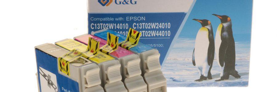 G&G Ersatzpatronen für Epson Fernglaspatronen (Epson 502XL) sind lieferbar
