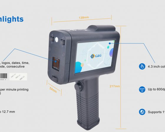 G&G Handheld Tintenstrahldrucker