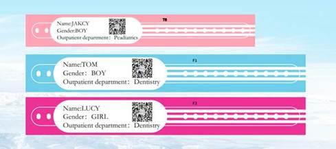 Patienten-Armbänder von G&G