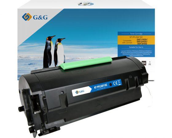 G&G Toner für die neuesten Lexmark MS/MX-Drucker