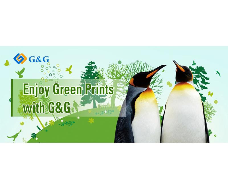 Grüne Ausdrucke mit G&G genießen