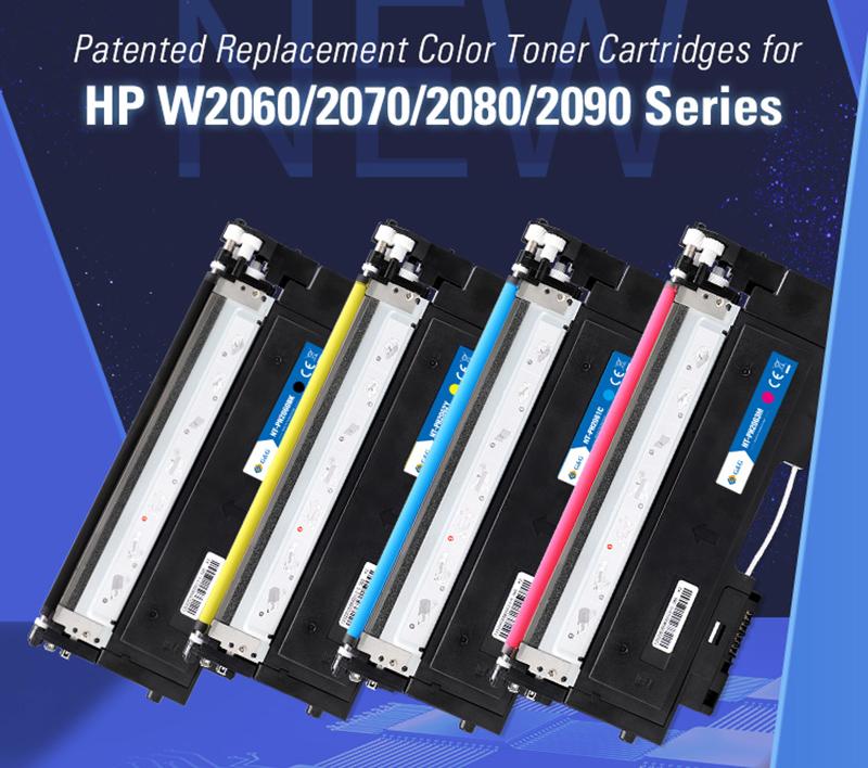 G&G Toner für die neue HP Color Laserdrucker sind fertig