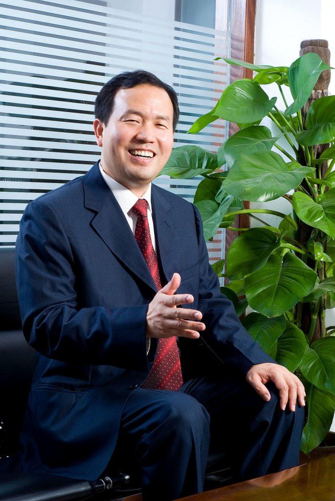 Jackson Wang, Vorsitzender der Ninestar Corporation