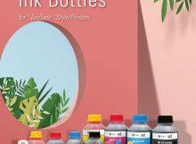 Die Tintenflaschen von G&G